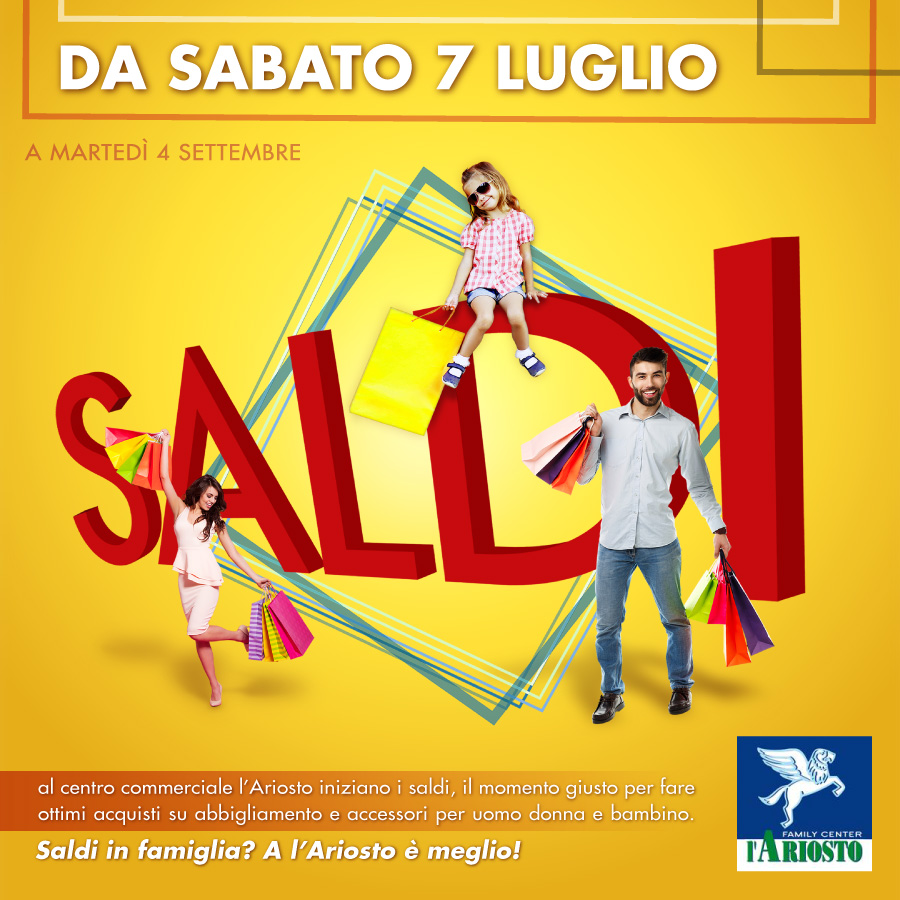Centro Commerciale Ariosto Family Center REGGIO EMILIA- organizza ...